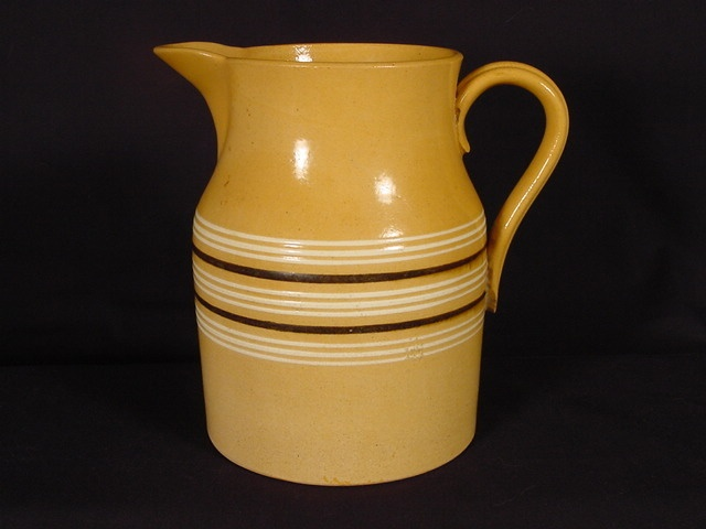 69 Best Yellow Ware Images On Pinterest Antique Pottery