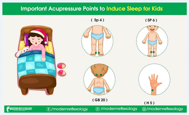 Acupressure Points To Induce Sleep for Kids | Acupressure ...