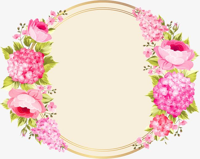 Flower crown pinterest. Pink circle clipart png