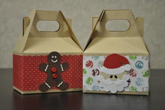 Christmas gable box / gift box