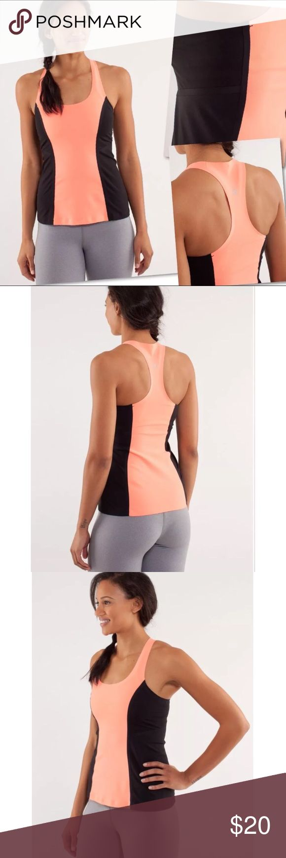 """LULULEMON COOL RACERBACK SURF BONDED TANK TOP SZ 4 LULULEMON COOL RACERBACK SURF BONDED TANK TOP SZ 4 - 32-36"""" BUST 24"""" LENGTH  COLOR IS DEFINITELY THE COLOR OF THE STOCK PHOTOS. I COULDN'T GET THE RIGHT COLOR WITH MY PHONE. lululemon athletica Tops Tank Tops"""