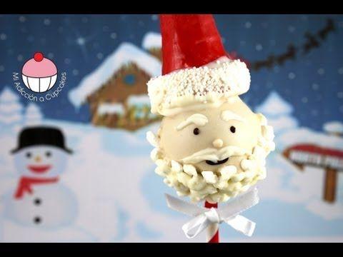 ▶ CHRISTMAS CAKE POPS!! -- Make SANTA CAKEPOPS for Christmas -- A Cupcake Addiction how To Tutorial - YouTube