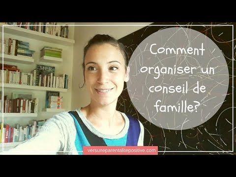 Comment organiser un conseil de famille - YouTube