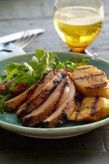 plantains in this delicious grilled dish. Chicken Crock Pots, Chicken ...
