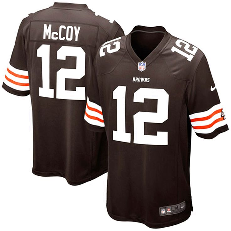 Nike Colt McCoy Cleveland Browns Historic Logo Youth Game Jersey - Brown - $18.99