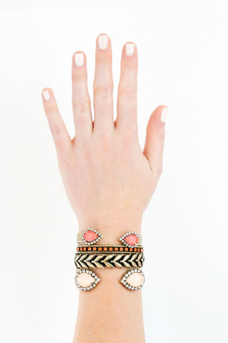 Clara Mini Bracelet See More From Lorenhope Miami Muse Featuring The Large Sarra Cuff In S Small