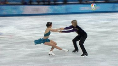 U.S.+ice-dancing+pair+Charlie+White+and+Cheryl+David+blew+them+out+of+the+water+and+received+the+highest+score+of+all+time+for+a+pairs+ice-dancing+free+skate..gif (375×210)