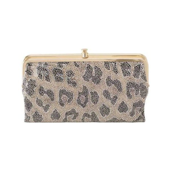 Women's Hobo Lauren - Vintage - Cheetah Shimmer Wallets ($128) ❤ liked on Polyvore featuring bags, wallets, cheetah shimmer, hobo wallet, vintage bag, zipper wallet, zipper bag and cheetah bag
