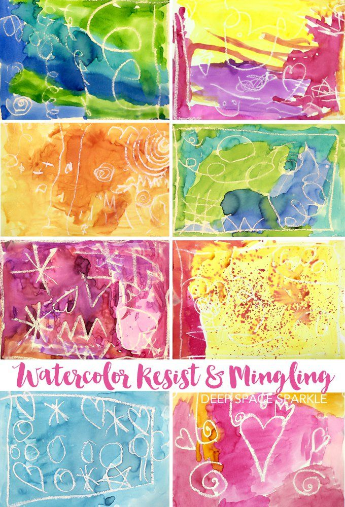 Easy watercolor process lesson pastel watercolors and art for Easy watercolour projects