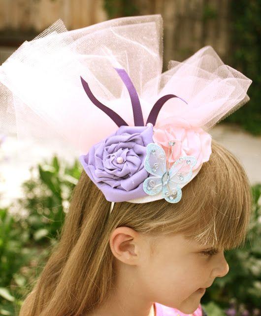 Head Band Hats: You'll Need: Headbands Felt Hot Glue And