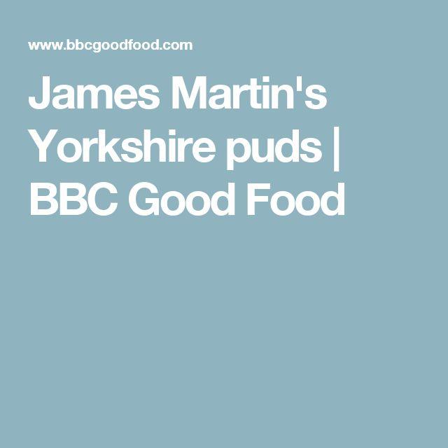 James Martin's Yorkshire puds | BBC Good Food