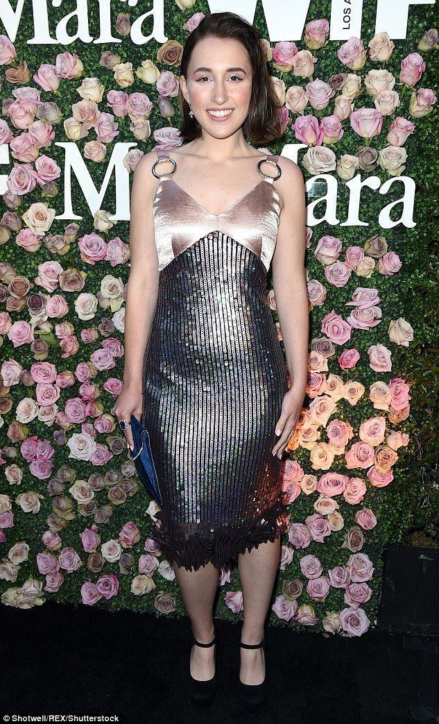 Harley Quinn Smith wore a glimmering outfit at the Women In Film Los Angeles Max Mara event.  http://dailym.ai/2sZ13E1  via Daily Mail