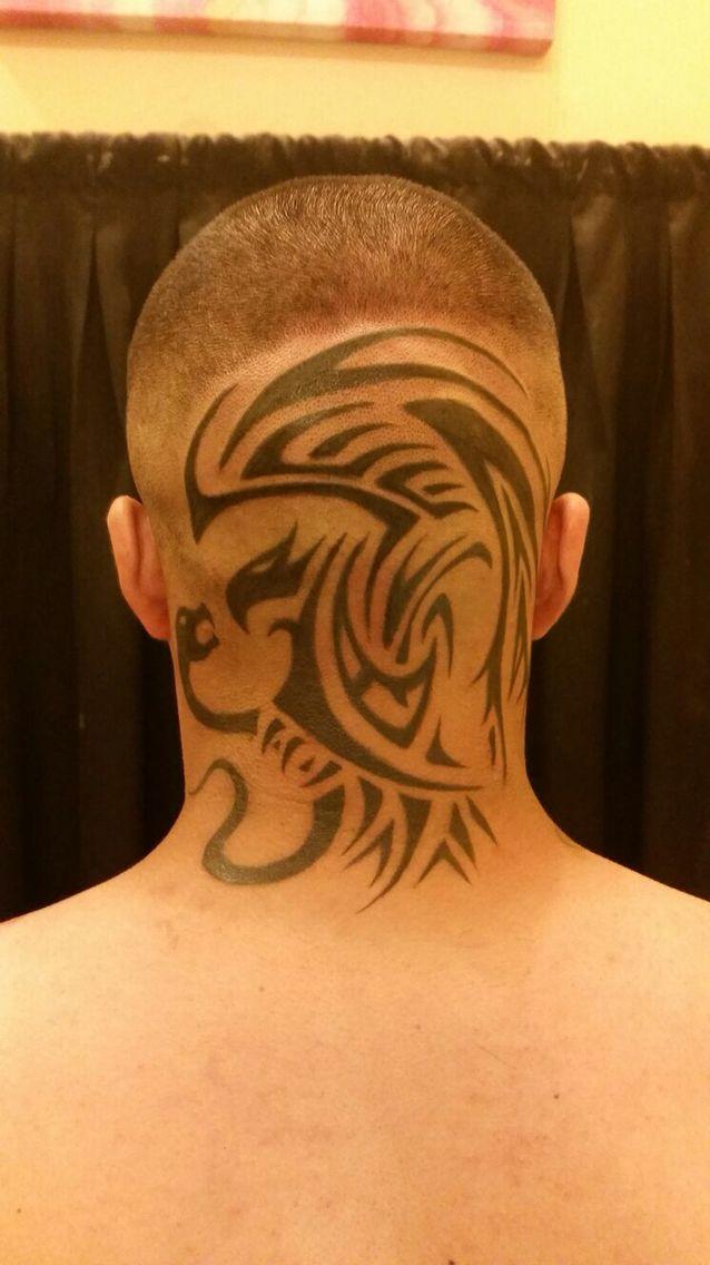 Mexican Flag eagle tattoo