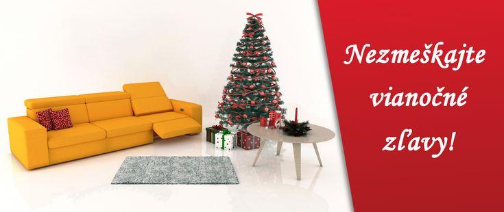 Kúpte si sedačku s výhodnou vianočnou zľavou aj v januári!