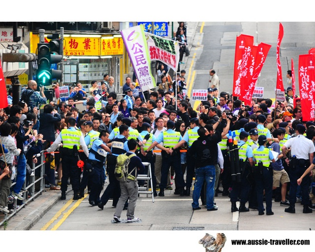 Protest @ Hong Kong