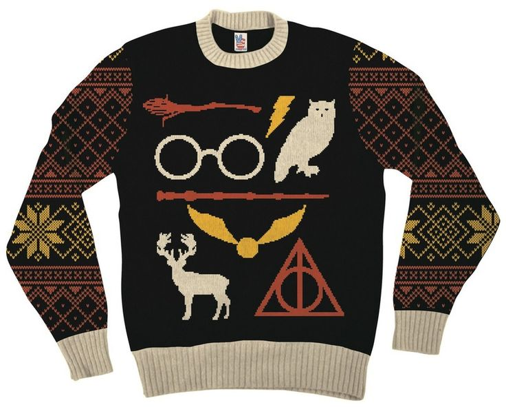 8 Harry Potter Ugly Christmas Sweaters For Your Inner Witch Or Wizard — PHOTOS