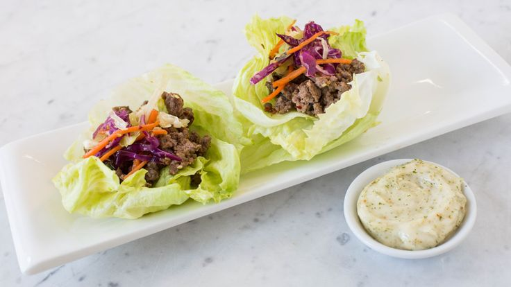 Easy Asian Lettuce Wraps  Everyone thinks eating healthy means lack of flavor, well give this a try and you will be surprised! Quick, healthy and delicious!