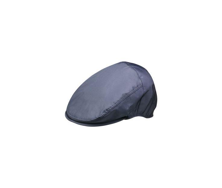 Waterproof hat. Product code: B15070A. Shop it here: http://shop.borsalino.com/en/mans-collection/fall/winter/waterproof-hats-and-caps/waterproof-flat-cap-2.