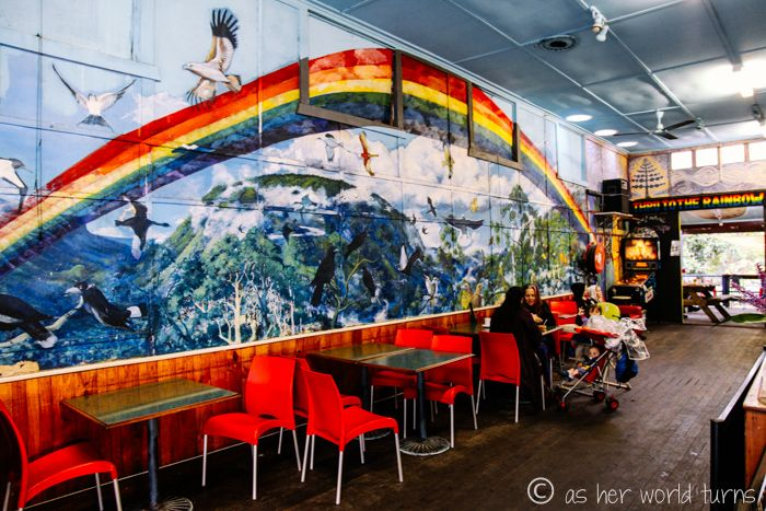 Rainbow Cafe in Nimbin, Australia -- Read more: http://www.asherworldturns.com/freaky-nimbin/