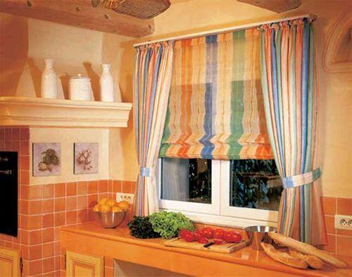 Как выбрать римские шторы для кухни: фото идеи дизайна