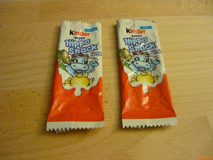 No. 188 - 189   víziló   hippo   Kinder Happy Hippo Snack