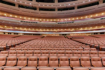 Next weekend, the LDS Conference Center will host its semiannual General Conference in this auditorium. Some women are petitioning to attend...