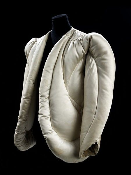 Evening Jacket Charles James, American ca. 1937 quilted satin, filled with down  (in the Victoria and Albert museum)
