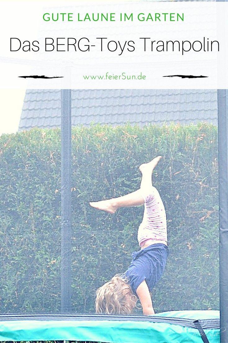 Gute Laune Im Garten Mit Dem Berg Toys Trampolin Wir Testen Das Trampolin Auf Mit Bildern Gute Laune Trampolin Familienleben