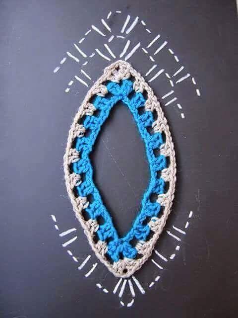 Dois modelos básicos do Gráfico para fazer poncho em crochê, Maravilhoso..