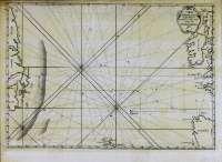 ENTRE EUROPA E AMÉRICA. Carta reducida dos Mares contidos entre as costas de Europa y América (século XVIII)