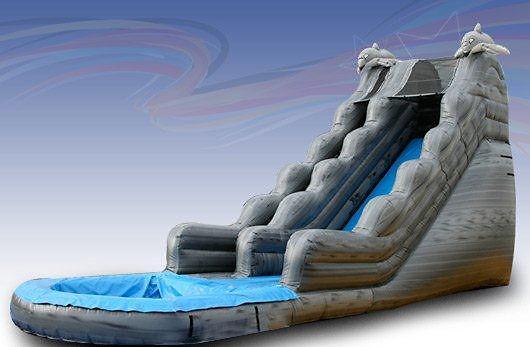 (China Guangzhou) manufacturers selling inflatable slides , Pool slides  CTB-042