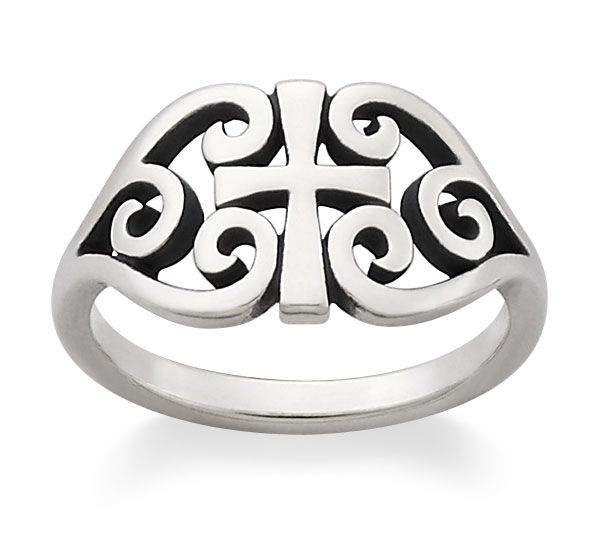 Scroll Cross Ring from $59 by James Avery Jewelry