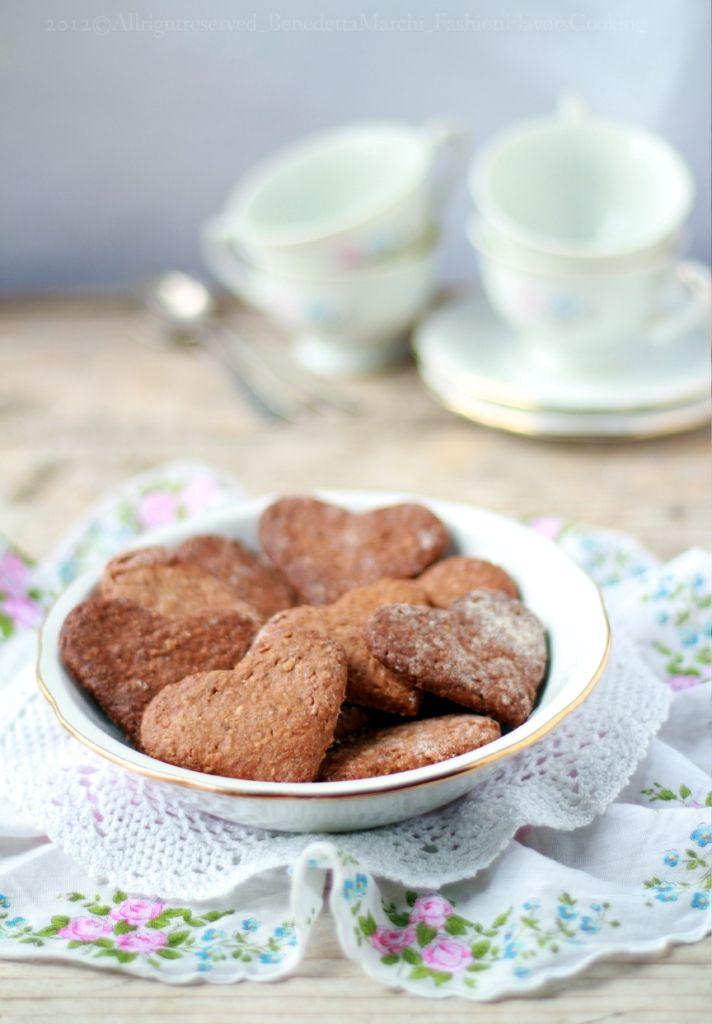 ricetta biscotti pere e cioccolato