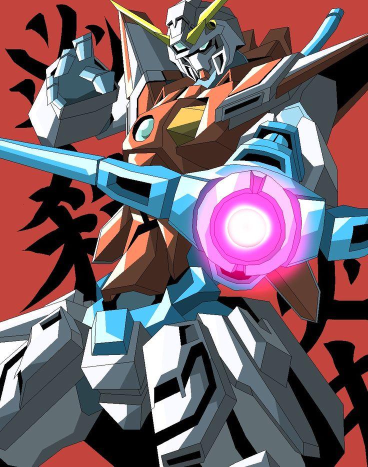 Pin by scorpion on Gundam Fight Gundam art, Anime
