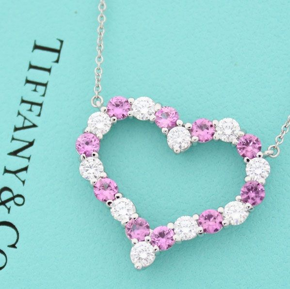 Women's Most Feminine Tiffany Heart Necklace