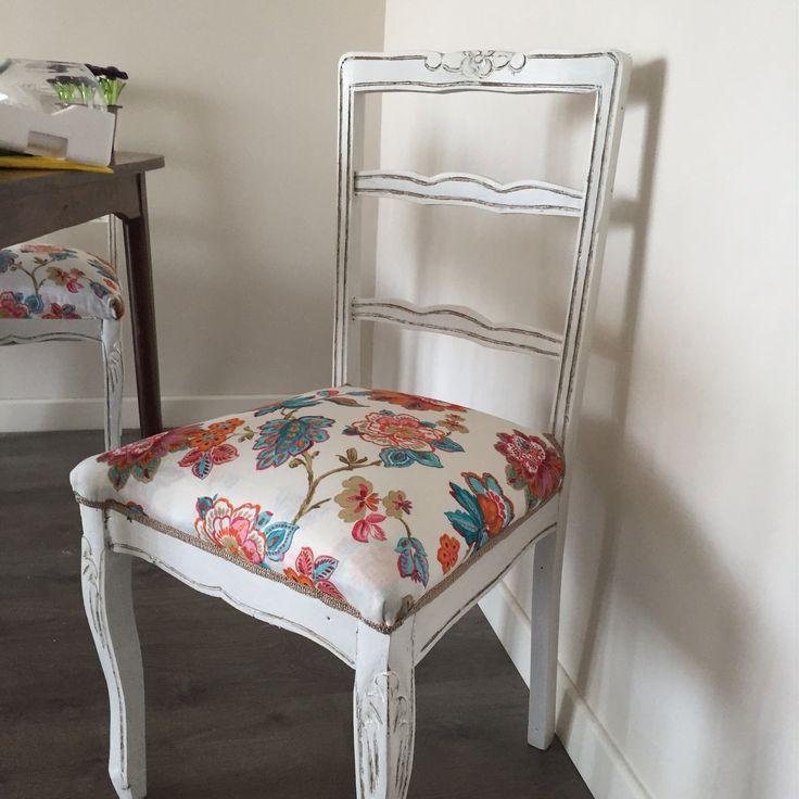 Sillas comedor normando deco hogar pinterest sillas - Tapizado de sillas de comedor ...