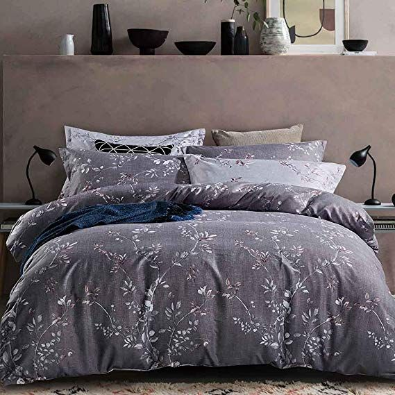 Amazon Com Tiffico Duvet Cover Queen Set Floral Flower