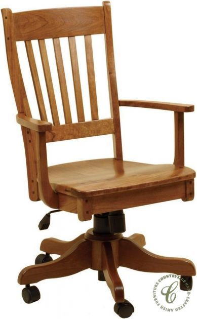 bolingbroke solid wood desk chair