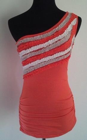 Clotheswap - one shoulder top