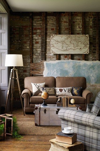 stylish salvage rustic living roomsliving room