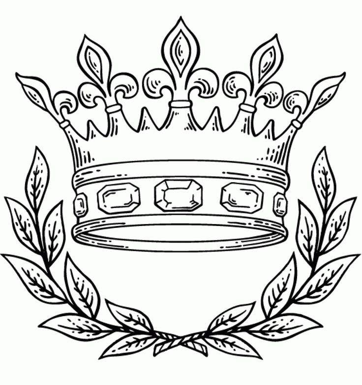 9 Pics of King And Queen Crown Coloring Pages - King Crown ...