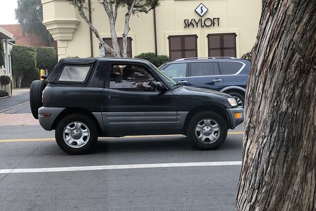 Remember When Toyota Made a RAV4 Convertible? featured image large thumb0