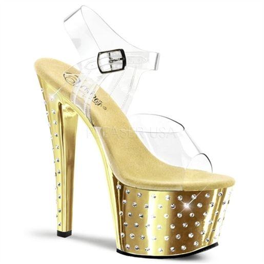 STARDUST-708 Yüksek topuklu platformlu bayan ayakkabı