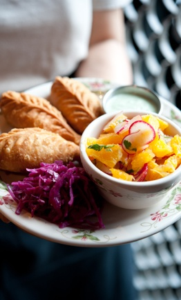 Yum. Very unique flavors. Ting Momo Tibetan dumpling house   South Lake Union, Seattle   a Tom Douglas Restaurant