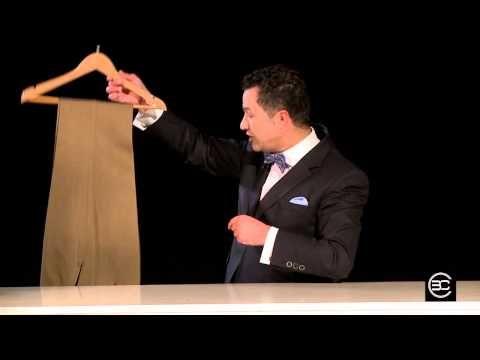Cómo Doblar un Pantalón de Forma Increible - Bere Casillas (Elegancia 2.0) - YouTube