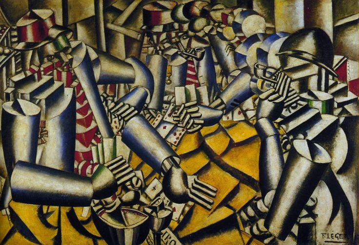Leger, Soldiers Playing Cards, 1917