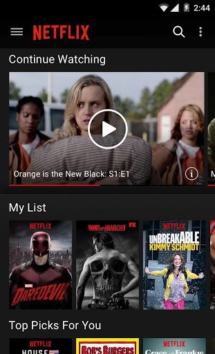 Netflix v4.8.0 build 9019   Netflix v4.8.0 build 9019Requirements:4.4Overview:Netflix is the worlds leading subscription service for watching TV episodes and movies on your phone.  This Netflix mobile application delivers the best experience anywhere anytime.  Get the free app as a part of your Netflix membership and you can instantly watch thousands of TV episodes & movies on your phone.  If you are not a Netflix member sign up for Netflix and start enjoying immediately on your phone with…