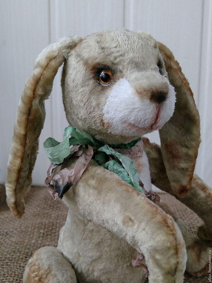 Купить Мартовский тедди кролик - оливковый, кролик, кролик тедди, мартовский кролик, мартовский заяц