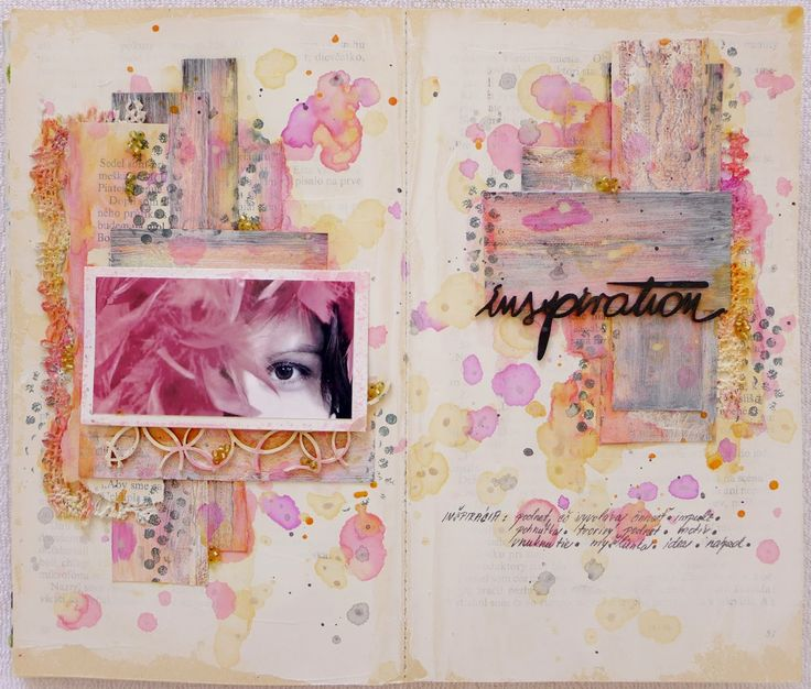 art-journal page