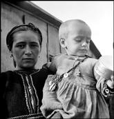 GREECE. 1948. Mother and child refugees from the Civil War areas. David Seymour
